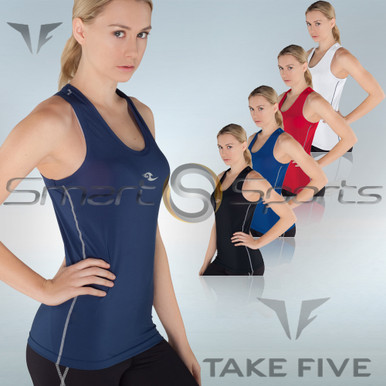 Womens Compression Tank Top Base Layer Take 5