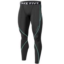 New Mens Compression Pants Base Layer Tights Grey Take 5