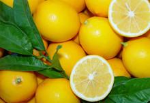 Meyer Lemons, Organic, 18 Lb. Box