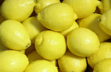 Lisbon Lemons, Organic, 20 Lb. Box