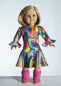 Swirl Doll Dress     Matching Girl Dress available