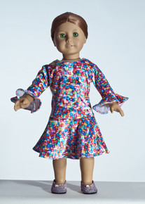 Chicklets Doll Dress     Matching Girl Dress available
