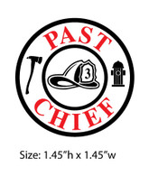 Past Chief Decals