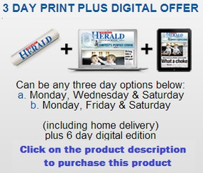 The Newcastle Herald 3 day Print and Digital Subscription