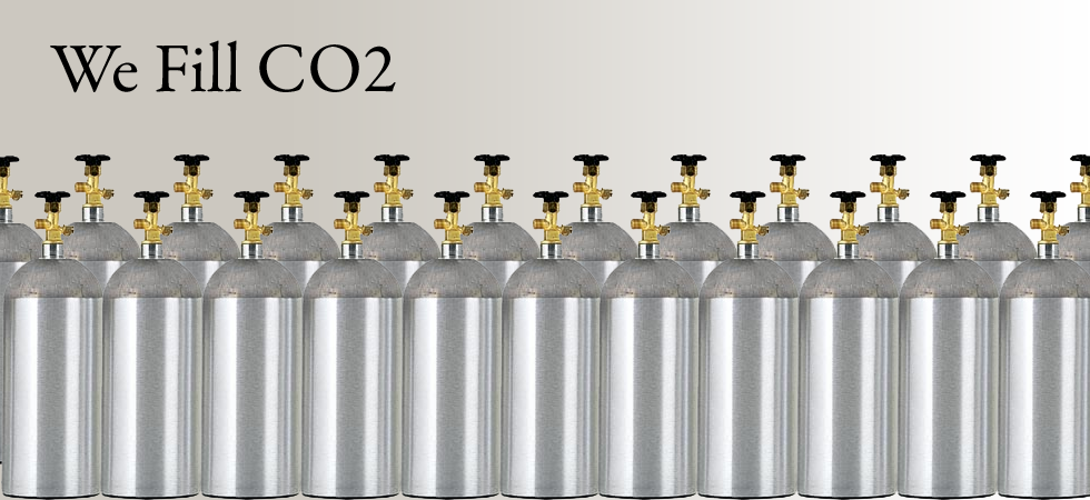 We Fill Carbon Dioxide Tanks