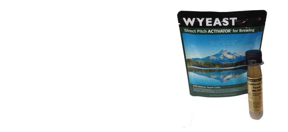 Wyeast & White Labs Liquid Yeast