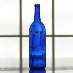 750 ml cobalt blue wine bottles