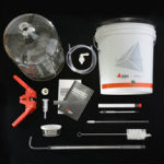 Carboy Home Brew Kit with 5 Gallon Glass Carboy