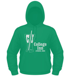 College Inn Hoodie in kelly green