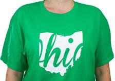 Irish Green State of Ohio T-Shirt