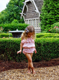 Blush Dot Romper