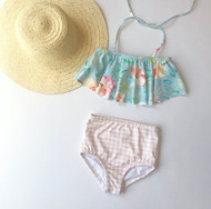 Floral Gingham Swing Swimsuit SOLD OUT