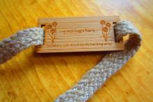 bamboo + hemp rope banding wrap