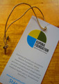 Thin recycled hangtag cardstock