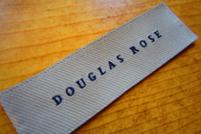 Damask Twill Woven Tag