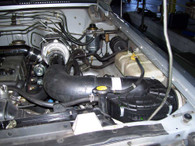 Nissan GQ Turbo Glide Turbo Kit fitted with GU Factory 4.2 Air Filter