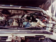 Nissan SD 33 Patrol Turbo Kit Fitted