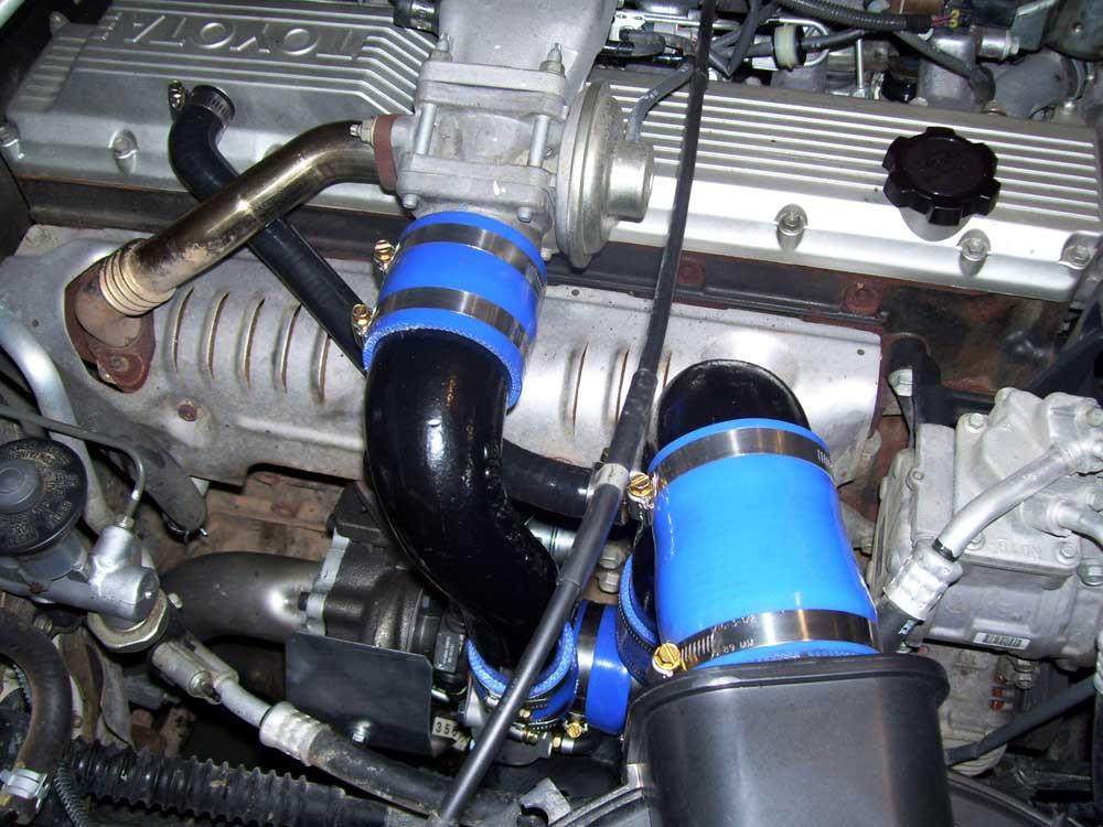 Diesel Turbo Kit : Toyota and series diesel turbo kit fitted