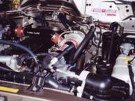 Nissan GU Patrol Turbo Glide kit fitted