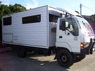 Isuzu NPS 300 4.6 L Tilt Cab 4x4 Turbo and Intercooler fitted