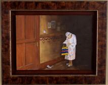 """Inslee, George - """"The Letter"""" framed"""