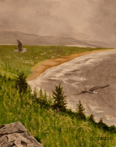 "Inslee, George - ""Nehalem Bay"" unframed SOLD"