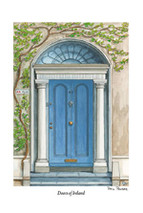 Doors of Ireland - Blue 43