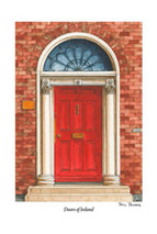 Doors of Ireland - Red 27