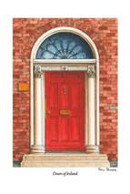 Doors of Ireland - Red 27