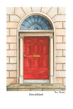Doors of Ireland - Red 39