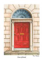 Doors of Ireland - Red 39