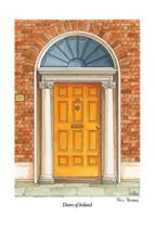 Doors of Ireland - Yellow 26