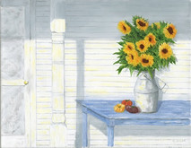 Heirlooms and Gold - 14x11 giclee' on canvas by George Inslee, unframed