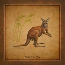 Wood Nashville Zoo - Kangaroo