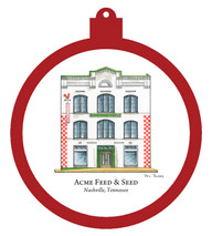 Acme Feed & Seed Ornament