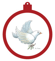 Dove Ornament