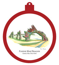 Fannie Mae Dees Park - Dragon Ornament
