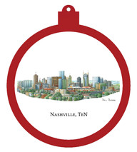 Nashville, Ten Ornament