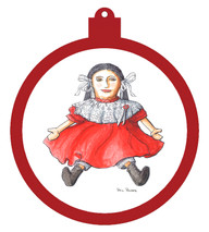 Rag Doll Ornament