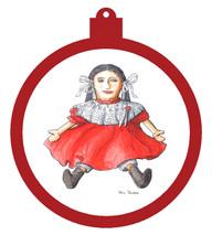 Rag Doll Ornament