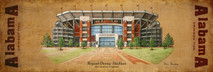 Wood Bryant-Denny Stadium - University of Alabama