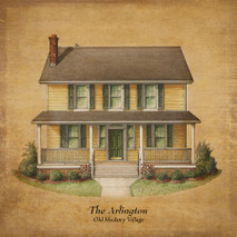 Old Hickory Village - Arlington printed on wood