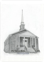 Lakewood Baptist Church 5x7 print