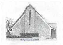 Pennington United Methodist Church 7x5 print
