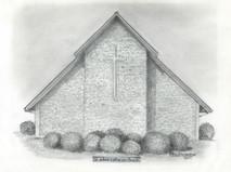 St John's Lutheran Church 7x5 print