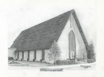 ST Philip's Episcopal Church 7x5 print