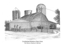 Cumberland Meadows Dairy Farm 7x5 print