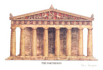 Parthenon West Face