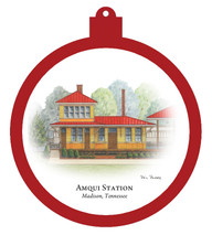 Amqui Station - Madison, Tennessee Ornament