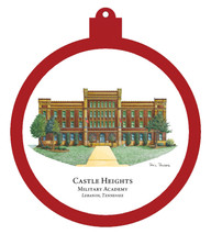 Castle Heights Military Academy - Lebanon, TN Ornament - Temporarily SOLD OUT